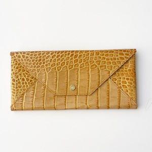 Gold Envelope Clutch